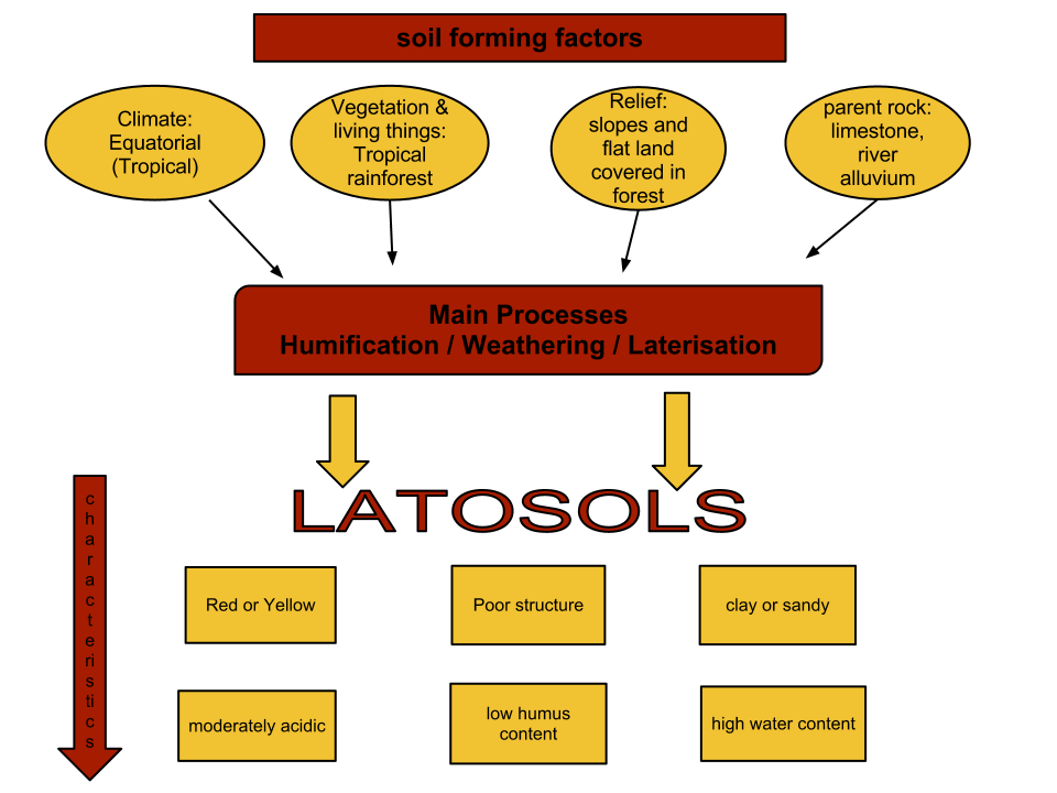 latosols A comparative study was carried out on chemical, physical and mineralogical characteristics of dusky red latosols originated from the weathering of alcaline (lre) and.