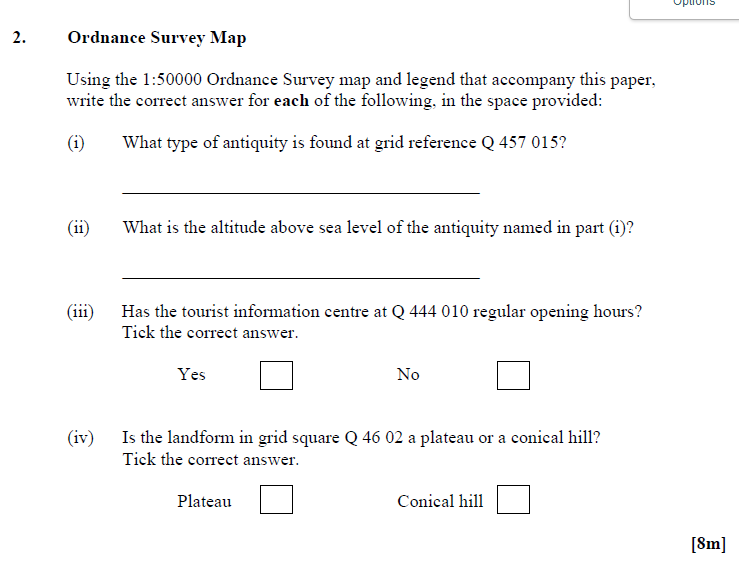 lc geography bantrygeography typical short question